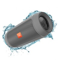 اسپیکر پرتابل بلوتوث ضد آب بی سیم وایرلس جی بی ال JBL Charge 2+ Grey