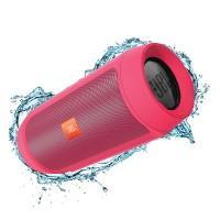 اسپیکر پرتابل بلوتوث ضد آب بی سیم وایرلس جی بی ال JBL Charge 2+ Pink