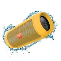 اسپیکر پرتابل بلوتوث ضد آب بی سیم وایرلس جی بی ال JBL Charge 2+ Yellow