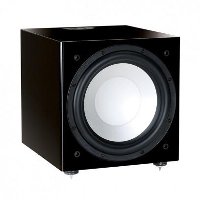 ساب ووفر اکتیو مانیتور آدیو Monitor Audio Silver W12 Gloss Black