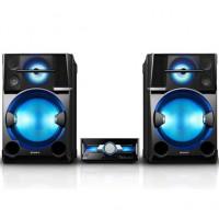 قیمت خرید فروش اسپیکر خانگی رادیو دار بلوتوث یو اس بی قوی حرفه ای رقص نور سونی Sony SHAKE-100D