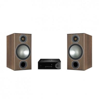 اسپیکر خانگی مانیتور آدیو Monitor Audio Bronze 2 Bundle Walnut