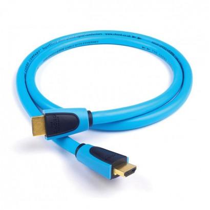 کابل  حرفه ای کرد Chord Supershield HDMI 1m