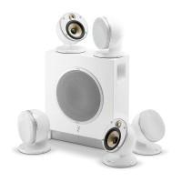 قیمت خرید فروش اسپیکرهای فای | دالبی | سینمایی | سینمای خانگی | سینمای خانواده |  ساروند رومیزی | دسکتاپ | خانگی فوکال Focal Dome Pack 5.1 Flax Sub Air White