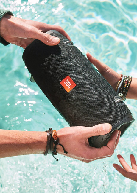 اسپیکر بلندگو بلوتوث بی سیم ضد آب قابل حمل شارژی پرتابل JBL Xtreme 2